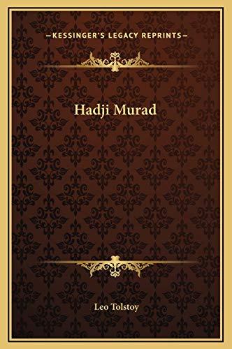 9781169256781: Hadji Murad