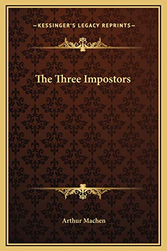 9781169257979: The Three Impostors