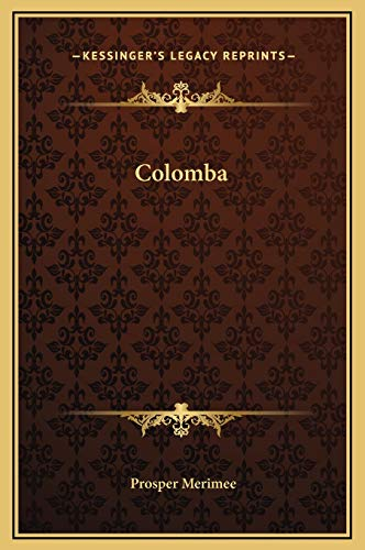 9781169258372: Colomba