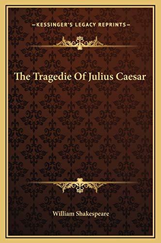 9781169261631: The Tragedie Of Julius Caesar
