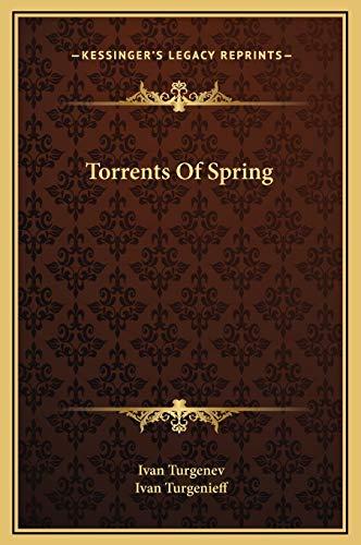 9781169263444: Torrents of Spring