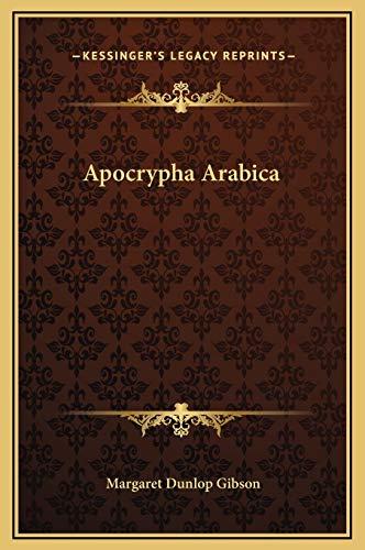 9781169263499: Apocrypha Arabica