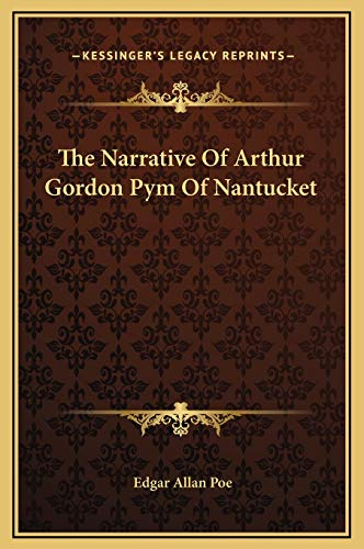 9781169264014: The Narrative of Arthur Gordon Pym of Nantucket