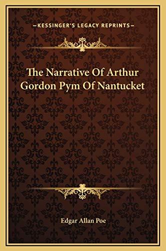 9781169264014: The Narrative Of Arthur Gordon Pym Of Nantucket