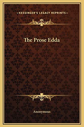 9781169265738: The Prose Edda