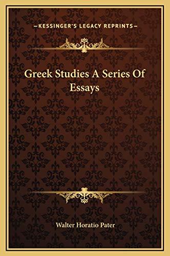 9781169265943: Greek Studies A Series Of Essays