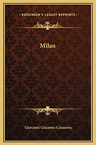 9781169266933: Milan
