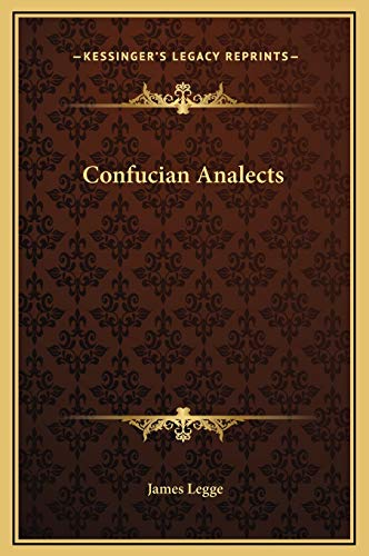9781169267411: Confucian Analects