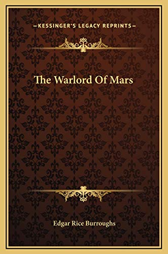 9781169267893: The Warlord of Mars