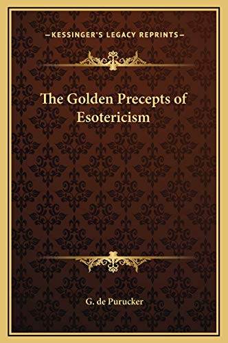 9781169277212: The Golden Precepts of Esotericism