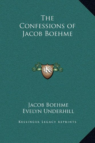 9781169278271: The Confessions of Jacob Boehme