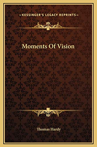 9781169279797: Moments Of Vision