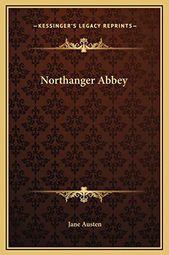 9781169279803: Northanger Abbey