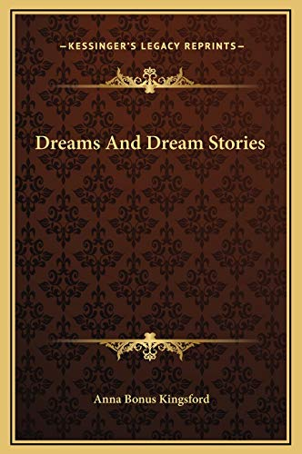 9781169281974: Dreams And Dream Stories