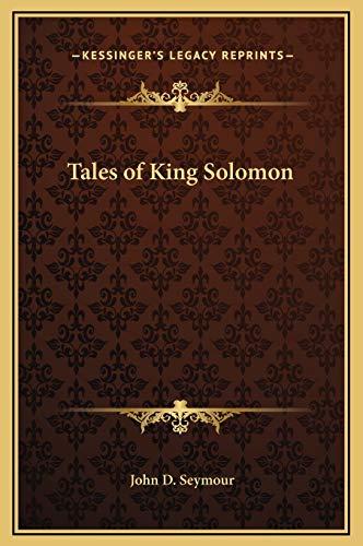 9781169284845: Tales of King Solomon