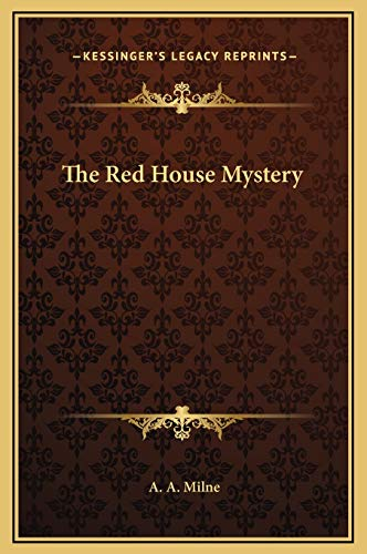 9781169287884: The Red House Mystery