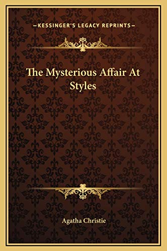 9781169289864: The Mysterious Affair At Styles