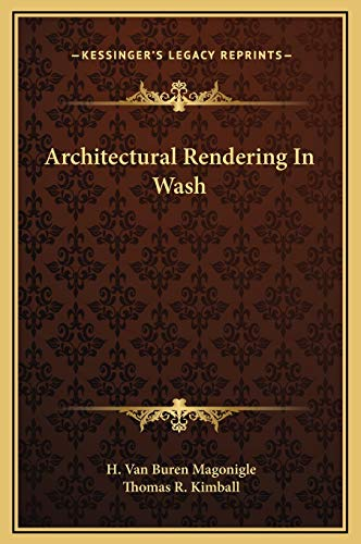 9781169293175: Architectural Rendering In Wash