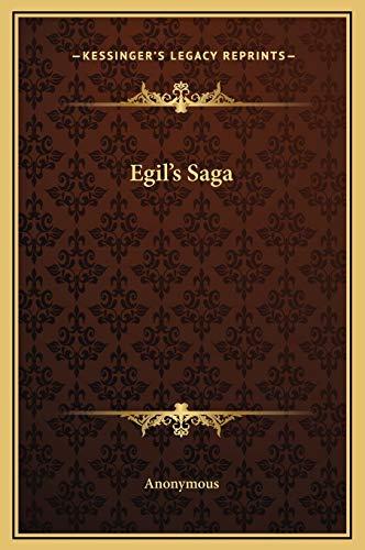 9781169294622: Egil's Saga