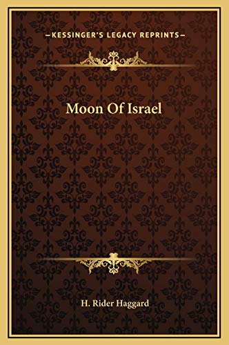 9781169296008: Moon Of Israel