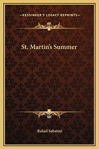 9781169300651: St. Martin's Summer