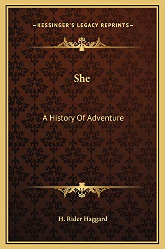 9781169301689: She: A History of Adventure
