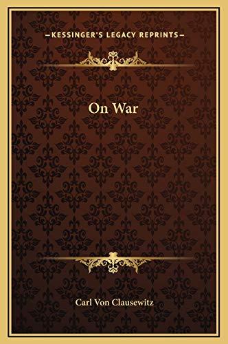 9781169303454: On War