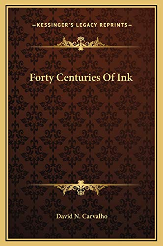 9781169305786: Forty Centuries Of Ink