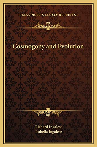 9781169309678: Cosmogony and Evolution