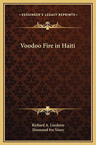 9781169312265: Voodoo Fire in Haiti