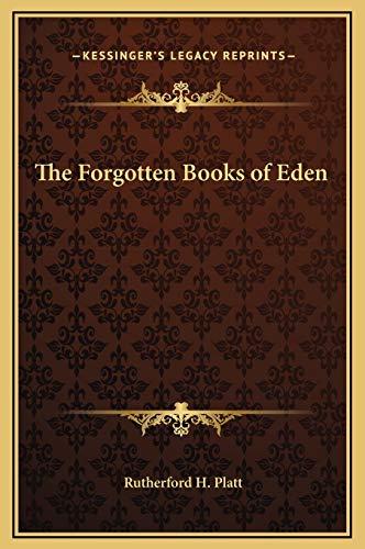 9781169312661: The Forgotten Books of Eden