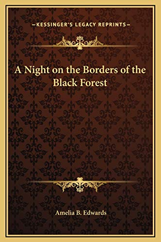 9781169315570: A Night on the Borders of the Black Forest