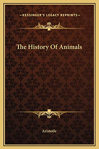 9781169316478: The History Of Animals