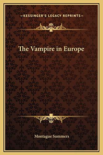 9781169324732: The Vampire in Europe