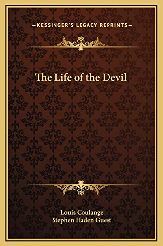 9781169325555: The Life of the Devil