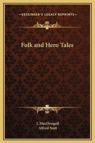 9781169326545: Folk and Hero Tales
