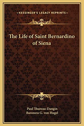 9781169329249: The Life of Saint Bernardino of Siena