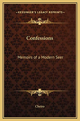 9781169331204: Confessions: Memoirs of a Modern Seer