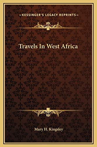 9781169334977: Travels In West Africa