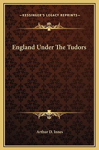 9781169340367: England Under The Tudors