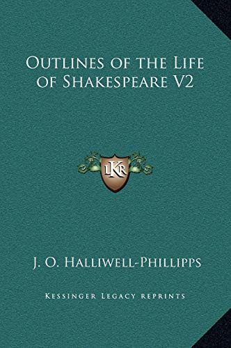9781169341708: Outlines of the Life of Shakespeare V2