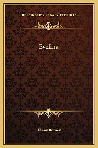 Evelina (9781169343702) by Fanny Burney