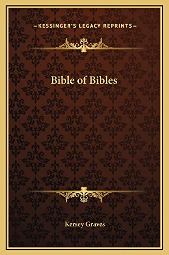 9781169343733: Bible of Bibles