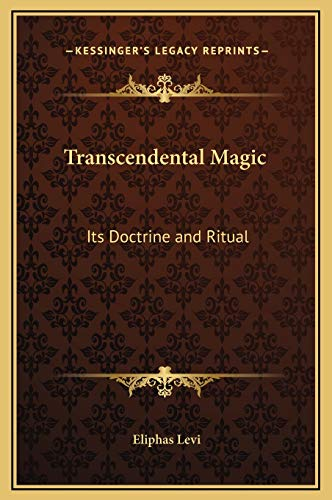 9781169344990: Transcendental Magic: Its Doctrine and Ritual