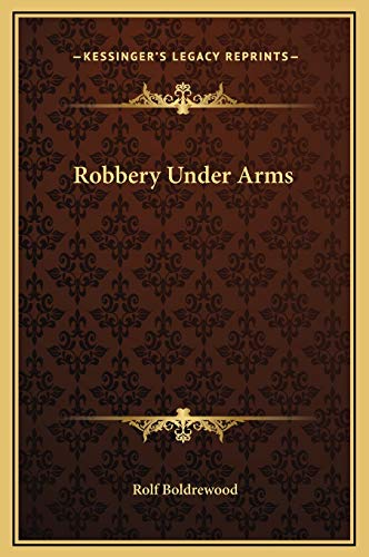 9781169347632: Robbery Under Arms