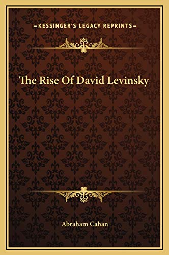 9781169348806: The Rise Of David Levinsky