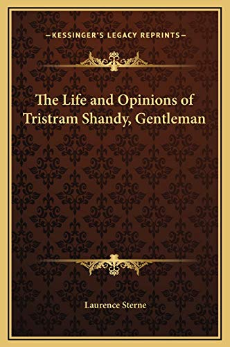 9781169349056: The Life and Opinions of Tristram Shandy, Gentleman