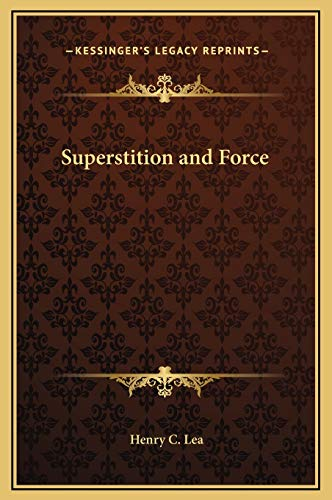 9781169349629: Superstition and Force