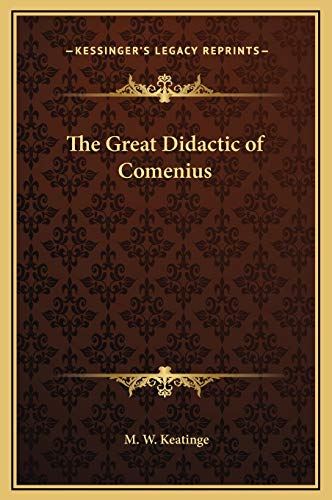 9781169351004: The Great Didactic of Comenius