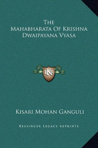 9781169355859: The Mahabharata Of Krishna Dwaipayana Vyasa